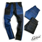 GOWEST(ゴーウエスト GOWEST)NARROW BUSH PANTS/13oz STRETCH DENIM