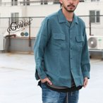 GOWEST(ゴーウエスト)OUT OF BORDER SHIRTS / L/W VIYELLA NATURAL DYED