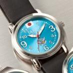 ブルーインパルス50周年記念プレミアムウォッチ 腕時計 レザーモデル 自衛隊モデル グッズ 自衛隊用品 通販 販売店