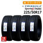 4本セット 新品タイヤ トライアングル Sportex TH201 225/50R17 サマータイヤ