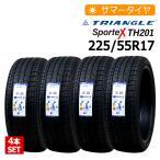 4本セット 新品タイヤ トライアングル Sportex TH201 225/55R17 サマータイヤ