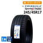 ゴムバルブセット 新品タイヤ トライアングル Sportex TH201 245/45R17 サマータイヤ