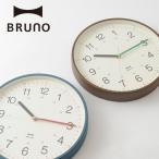 公式 BRUNO ブルーノ ージータイムクロック 壁掛け時計 BCW020 電池 カラー アナログ 円 彩る おしゃれ  かわいい 文字盤