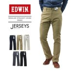 ���ɥ����� EDWIN ��� ���㡼������  ���� ���ä���ơ��ѡ��� �ȥ饦�����ѥ�� MENS JERSEYS CHINO REGULAR STRAIGHT ERK03 �ݥ����10�ܡ�����̵��