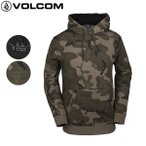 19-20 VOLCOM 撥水パーカー JLA PULLOVER Fleece g2452002: 正規品/ボルコム/メンズ/スノーボードウエア/パーカー/スノボ/snow