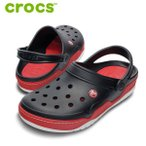 CROCS サンダル front court clog 14300: Black Red 正規品/クロックス/メンズ/フロント コート クロッグ/cat-fs