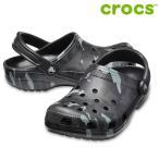 CROCS サンダル Classic Seasonal Graphic Clog 205706: Black Grey 正規品/クロックス/メンズ/cat-fs