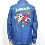 パンディエスタ PANDIESTA JAPANデニムウエスタンシャツ 510700 メキシカンパンダ アメカジ バイカー