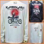カミナリ 長袖Tシャツ KMLT-72 WOMEN'S COALITION/アメカジ バイカー  レトロ 旧車/SからXXL 3L