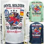 ショッピングアメカジ TEDMAN テッドマンロンT 長袖Tシャツ TDLS293 DEVILSOLDIER/アメカジ バイカー ミリタリー