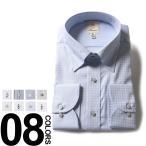 大きいサイズ メンズ ワイシャツ 長袖 3L 4L 5L 6L B&T CLUB オールシーズン 形態安定 綿100% スナップダウン