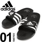 アディダス サンダル 大きいサイズ メンズ サカゼン 靴 ロゴ スリーライン マジックテープアッパー adidas ADISSAGE