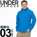 ショッピングアウター 大きいサイズ メンズ ジャケット UNDER ARMOUR アンダーアーマー 裏メッシュ ロゴ プリント シンプル カモフラ フーディ 1XL-3XL