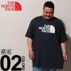 Tシャツ 半袖 大きいサイズ メンズ 綿100% ロゴプリント クルーネック BIG&TALL THE NORTH FACE