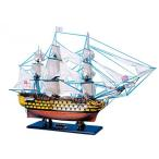 "模型 船舶 HMS Victory 50"" Limited - Warships from the Age of Sail - Model Ship Wood Replica - Not a Model Kit 正規輸入品"