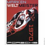 模型 車 Nicolas Hunziker Porsche 917k Marken Weltmeister 1970 Poster 正規輸入品