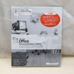 ショッピングOffice 中古 開封品 Microsoft OFFICE Personal Edition 2003 OEM版