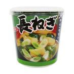 (まとめ)神州一味噌 おいしいね 長ねぎカップ 21.9g 1ケース(6食)〔×10セット〕