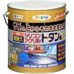 【あすつく対応】アサヒペン - 油性超耐久シリコンアクリルトタン用 - 3KG - スカイブルー【サビの上からそのまま塗れる】
