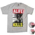 ALIFE(エーライフ) ALIFE KILLS S/S TEE Tシャツ T-SHIRT 半袖 alife 【クリアランスセール】