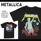 METALLICA (メタリカ) AND JUSTICE FOR ALL TEE Tシャツ 半袖 バンドTシャツ ロックTシャツ BAND TEE