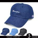 CHAMPION(チャンピオン) DENIM 6-PANEL CAP 6パネルキャップ 帽子 メンズ レディース ユニセックス デニムキャップ ローキャップ アメカジ カジュアル