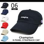 CHAMPION (チャンピオン) 6-PANEL STRAPBACK CAP 6パネルキャップ 帽子