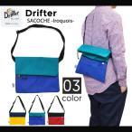 Drifter (ドリフター) SACOCHE IROQUOIS BAG サコッシュバッグ ショルダーバッグ BAG バッグ 鞄