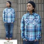 ショッピングアメリカ Hollister ホリスター メンズ チェック カジュアルシャツ