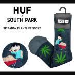 HUF ハフ × SOUTH PARK サウスパーク SP RANDY PLANTLIFE SOCKS ソックス 靴下 メンズ スケートソックス ハイソックス