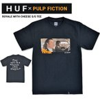 HUF ハフ PULP FICTION パルプフィクション Tシャツ ROYALE WITH CHEESE S/S TEE 半袖 カットソー TS01312 単品購入の場合はネコポス便発送