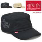 Manhattan Portage マンハッタンポーテージ キャップ TWILL WORK CAP ワークキャップ ストラップバックキャップ MP056-20S00