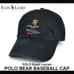 POLO Ralph Lauren ポロ ラルフローレン POLO BEAR BASEBALL CAP キャップ ポロベアー 帽子 6-PANEL CAP 6パネルキャップ メンズ レディース 黒 ブラック