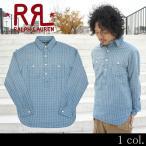 RRL by Ralph Lauren ラルフローレン ダブルアールエル Henleyneck Vintage Workshirt ヘンリーネックシャツ シャツ カジュアルシャツ
