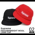 Supreme(シュプリーム) FEATHERWEIGHT WOOL CAMP CAP キャンプ キャップ HARRIS TWEED ハリスツイード メンズ レディース ストリート スケート 帽子 SUPREME