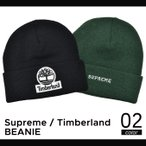 Supreme(シュプリーム) TIMBERLAND BEANIE ビーニー ニット帽 ニットキャップ ティンバーランド コラボ 帽子 メンズ レディース スケート ストリート SUPREME