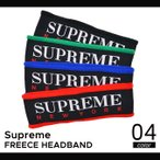 ショッピングFleece Supreme(シュプリーム) FLEECE HEADBAND ヘッドバンド ヘアバンド メンズ レディース スケート ストリート SUPREME
