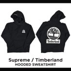 Supreme(シュプリーム) TIMBERLAND HOODED SWEATSHIRT プルオーバー パーカー メンズ フリース ストリート スケート SUPREME