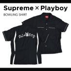 Supreme (シュプリーム) × Playboy (プレイボーイ) BOWLING SHIRT ボウリングシャツ 半袖シャツ メンズ ストリート スケート SUPREME