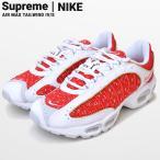 Supreme × NIKE シュプリーム × ナイキ AIR MAX TAILWIND 4 エアマックス テイルウインド スニーカー シューズ 靴 ホワイト AT3854 100 SUPREME