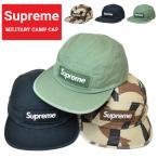 Supreme シュプリーム キャンプ キャップ MILITARY CAMP CAP 5パネルキャップ 帽子 ストラップバックキャップ SUPREME