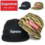 Supreme シュプリーム キャンプ キャップ WOOL CAMP CAP 5パネルキャップ 帽子 ストラップバックキャップ SUPREME