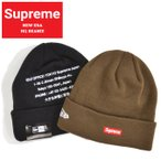 Supreme シュプリーム ビーニー NEW ERA HQ BEANIE ニットキャップ ニット帽 ニューエラ 帽子 SUPREME