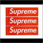 SUPREME/シュプリーム BOX LOGO STICKER SET ステッカーセット 3枚セット 【メール便発送で送料無料】