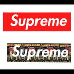 Supreme(シュプリーム) STICKERA SET ステッカーセット THE WAR REPORT / BOX LOGO 2枚セット 新作ステッカー SUPREME 【メール便発送で送料無料】