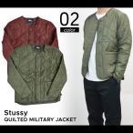 ショッピングstussy ステューシー STUSSY QUILTED MILITARY JACKET キルティング ミリタリージャケット メンズ ナイロンジャケット インナージャケット 中綿ジャケット