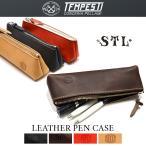 ショッピング筆箱 STL(エスティーエル) × TEMPESTI(テンペスティ) ペンケース LEATHER PEN CASE レザーペンケース 筆箱 本革 メンズ レディース
