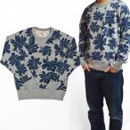 TODD SNYDER(トッドスナイダー)×CHAMPION(チャンピオン) Floral Print Pocket Sweatshirt クルースウェット トレーナー