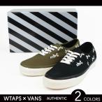 WTAPS × VANS VAULT ダブルタップス × バンズ ヴォルト OG Authentic LX オーセンティック スニーカー シューズ 靴 コラボ メンズ クロスボーン