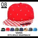 ショッピングVans VANS (バンズ) IDYLWILD SNAPBACK HAT CAP スナップバック キャップ メンズ レディース ユニセックス 帽子 ストリート スケート ヴァンズ